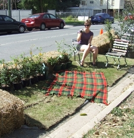 PARK(ing) Day Claim yourself some public space image