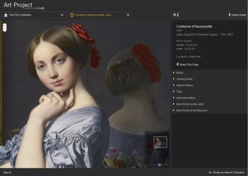 Google Art Project brings art museums to your desktop, in high res image