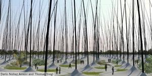 New York's Land Art Generator competition funds Public Artworks that produce renewable energy image