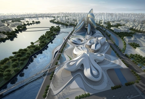 China builds yet another mega art complex image