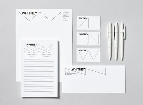 A New Graphic Identity for the Whitney image