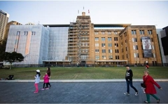 Covered in Art, Inside and Out: Giant Six- Storey Artwork Veils MCA image