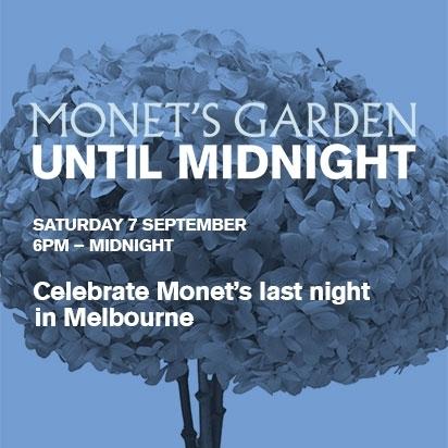 FINAL WEEKEND - Monet's Garden Until Midnight image