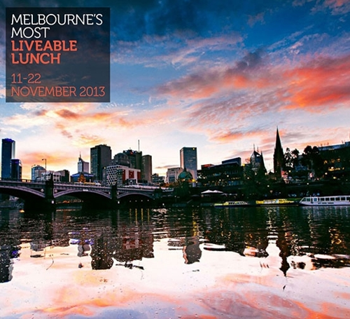 Shane Delia curates Melbourne?s Most Liveable Lunch for Melbourne Now at the NGV image