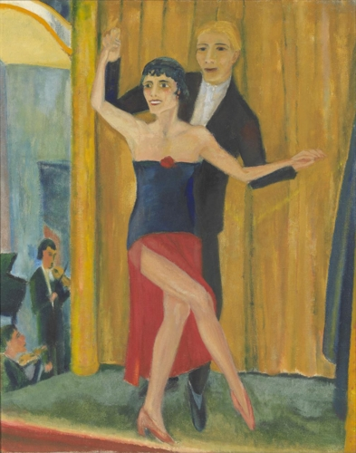 NGV NEWS | NGV acquires double-sided German Expressionist 'degenerate' painting  image