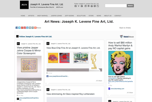 Follow Joseph K. Levene Fine Art, Ltd. on Rebelmouse image