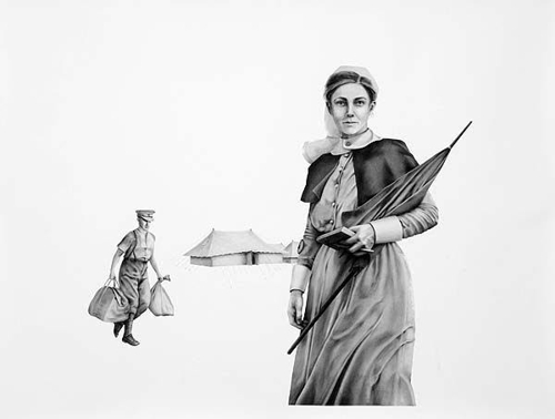 Catherine O'Donnell, 'Time for rounds' 2014 image
