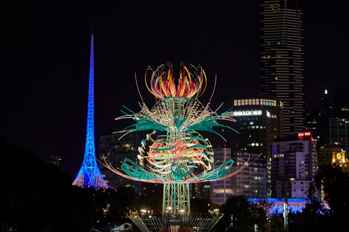 Spherophyte by Alex Sanson at White Night image