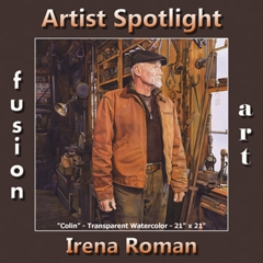Irena Roman - Artist Spotlight Winner for July 2018 image