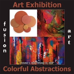 4th Colorful Abstractions Art Exhibition image
