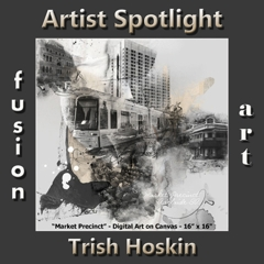 Trish Hoskin is Fusion Art's Digital & Photography Artist Spotlight Winner for October 2018 image