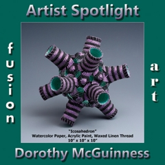 Dorothy McGuinness is Fusion Art's 3-Dimensional Artist Spotlight Winner for October 2018 image