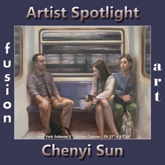 Chenyi Sun is Fusion Art's Traditional Artist Spotlight Winner for December 2018 image