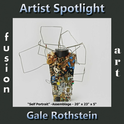 Gale Rothstein is Fusion Art's 3-Dimensional Artist Spotlight Winner for December 2018 image