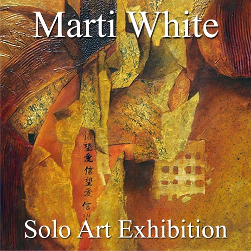Marti White Awarded a Solo Art Exhibition image