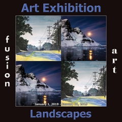 Fusion Art Announces the Winners of the 4th Annual Landscapes Art Exhibition image