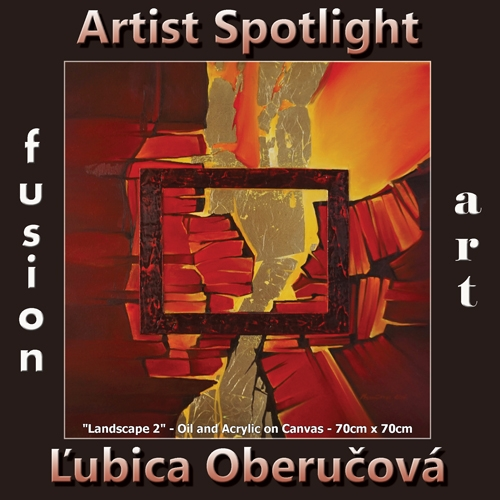 Ľubica Oberučová is Fusion Art's Traditional Artist Spotlight Winner for January 2019 image
