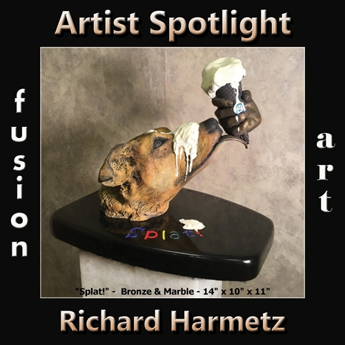 Richard Harmetz is Fusion Art's 3-Dimensional Artist Spotlight Winner for January 2019 image