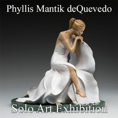 Phyllis Mantik deQuevedo Awarded a Solo Art Exhibition image