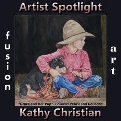 Kathy Christian is Fusion Art's Traditional Artist Spotlight Winner for June 2019 image