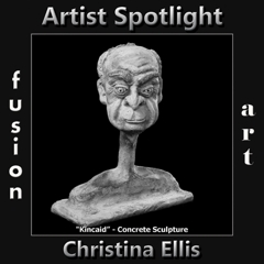 Christina Ellis is Fusion Art's 3-Dimensional Artist Spotlight Winner for June 2019 image