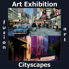Fusion Art Announces the Winners of the 4th Annual Cityscapes Art Exhibition image