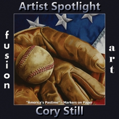 Cory Still is Fusion Art's Traditional Artist Spotlight Winner for July 2019 image