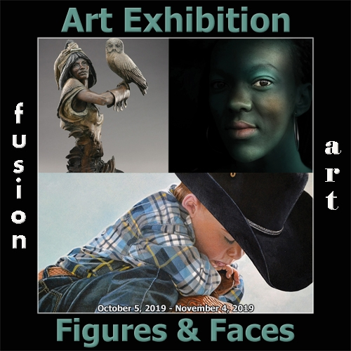 Fusion Art Announces the Winners of the 5th Annual Figures & Faces Art Exhibition image