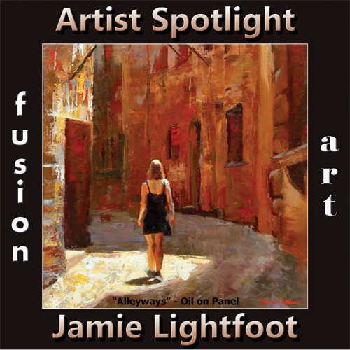 Jamie Lightfoot is Fusion Art's Traditional Artist Spotlight Winner for November 2019 image