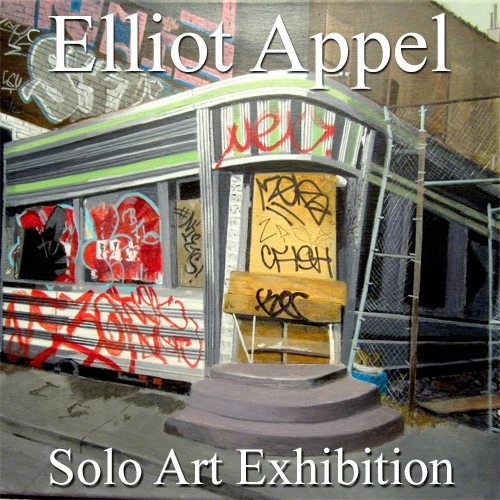 Elliot Appel is Awarded a Solo Art Exhibition image