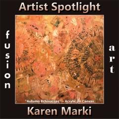 Karen Marki is Fusion Art's Traditional Artist Spotlight Winner for December 2019 image