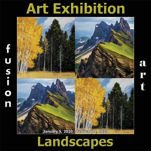Fusion Art Announces the Winners of the 5th Annual Landscapes Art Exhibition image