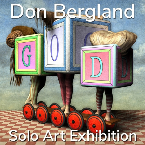 Don Bergland is Awarded a Solo Art Exhibition image