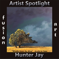 Hunter Jay is Fusion Art's Traditional Artist Spotlight Solo Art Exhibition for February 2020 image