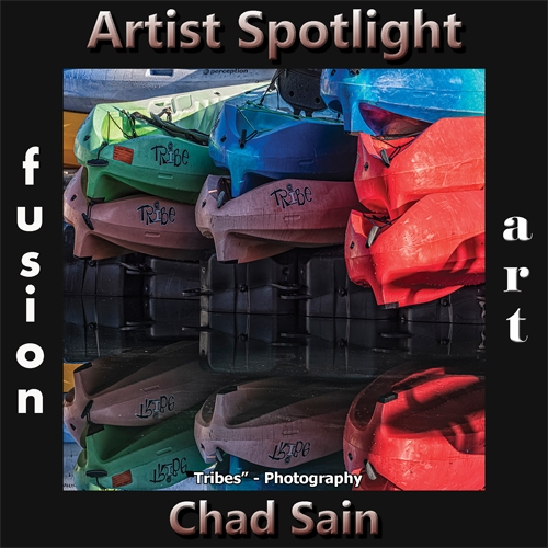 Chad Sain is Fusion Art's Photography & Digital Artist Spotlight Winner for February 2020 image