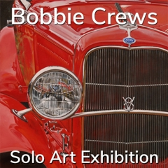Bobbie Crews is Awarded a Solo Art Exhibition image
