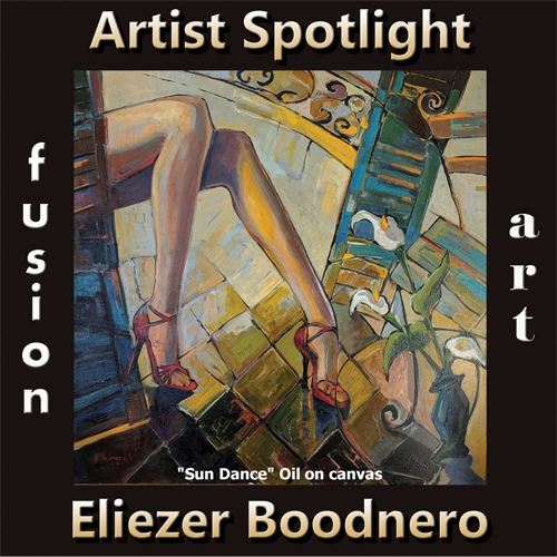 Eliezer Boodnero is Fusion Art's Traditional Artist Spotlight Solo Art Exhibition for March 2020 image