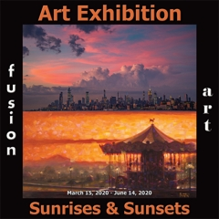 Fusion Art Announces the Winners of the Sunrises & Sunsets Art Exhibition image