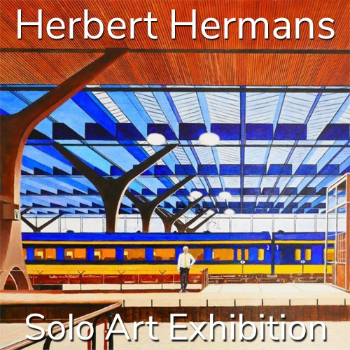Herbert Hermans is Awarded a Solo Art Exhibition image