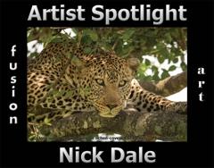 Nick Dale Wins Fusion Art's Artist Spotlight  Solo Art Exhibition for April 2020 image