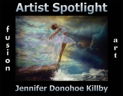 Jennifer Donohoe Killby Wins Fusion Art's Artist Spotlight  Solo Art Exhibition for May 2020 image