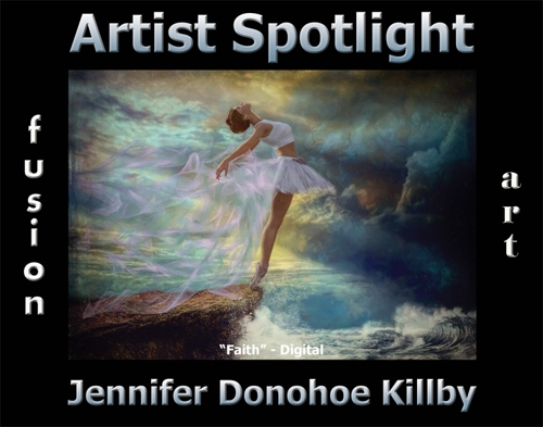 Jennifer Donohoe Killby Wins Fusion Art's Artist Spotlight  Solo Art Exhibition for May 2020 image