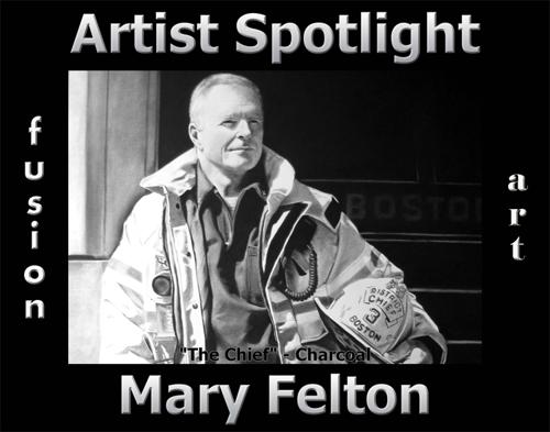 Mary Felton is Fusion Art's Traditional Artist Spotlight Winner for June 2020 image