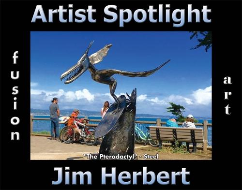 Jim Herbert is Fusion Art's 3-Dimensional Artist Spotlight Winner for June 2020 image