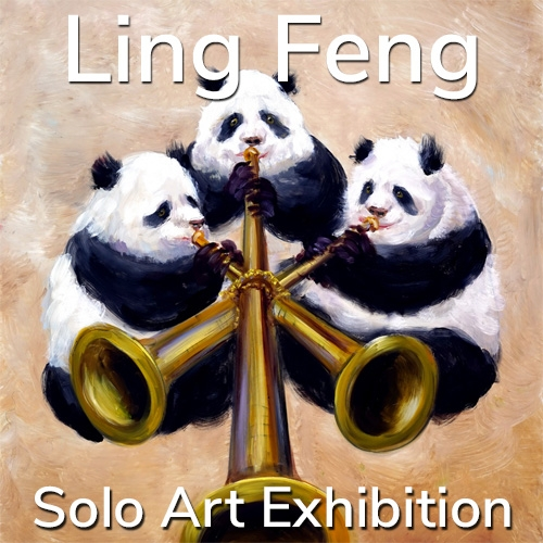 Ling Feng is Awarded a Solo Art Exhibition image
