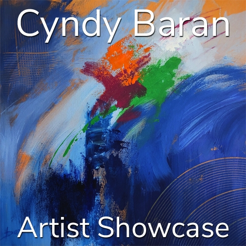 Cyndy Baran is Awarded an Artist Showcase Feature image