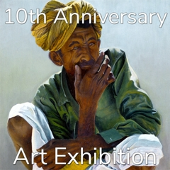 """""""10th Anniversary"""" Art Exhibition Winning Artists Announced by Art Gallery image"""