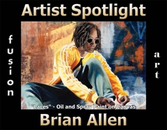 Brian Allen Wins Fusion Art's Artist Spotlight Solo Art Exhibition for July 2020 image