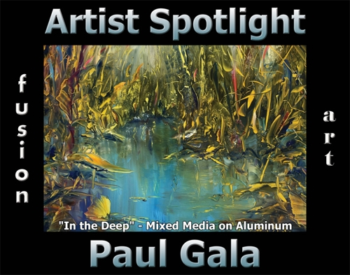 Paul Gala Wins Fusion Art's Artist Spotlight Solo Art Exhibition for July 2020 image