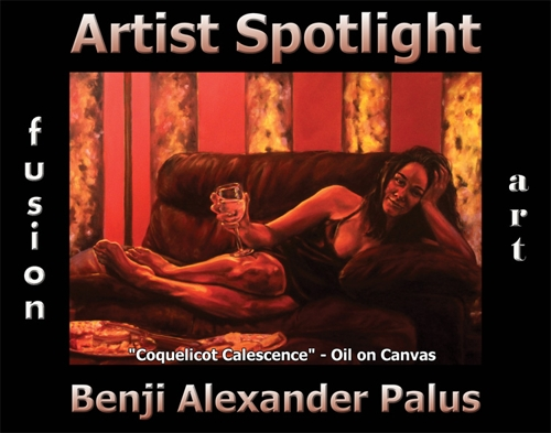 Benji Alexander Palus is Fusion Art's Traditional Artist Spotlight Solo Art Exhibition for August 2020 image
